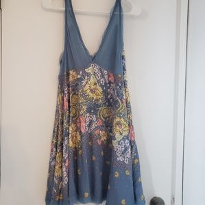 Women's Free People Intimately Floral Tunic Blouse
